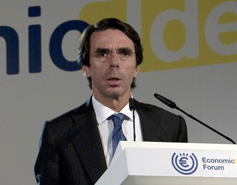 Aznar in Economic Ideas Forum, Madrid, Spain