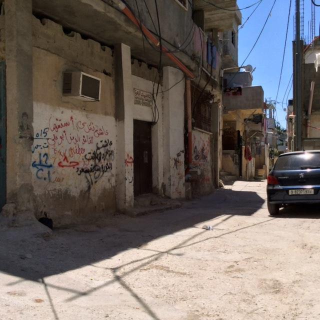 Elend in UNRWA Flüchtlingslager. Foto Kay Wilson