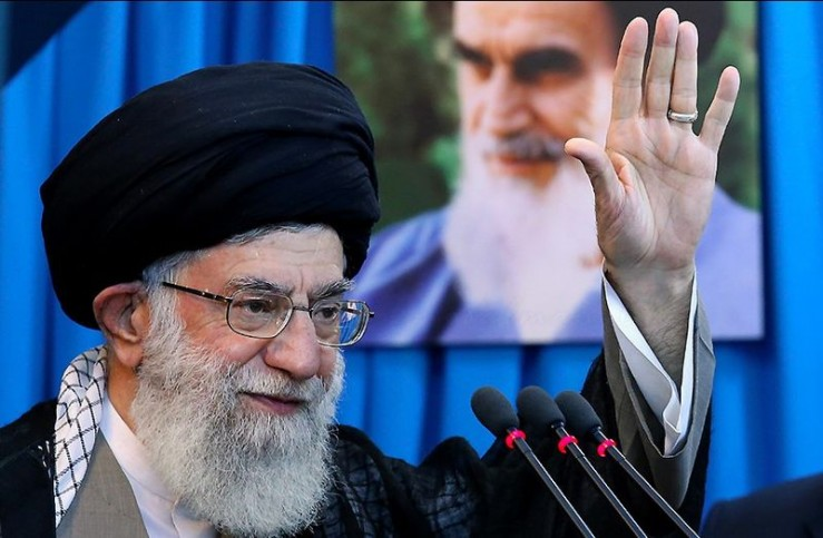 Ayatollah Seyyed Ali Khamenei. Foto seysd shahaboddin vajedi. Lizenziert unter CC-BY-SA 4.0 über Wikimedia Commons.