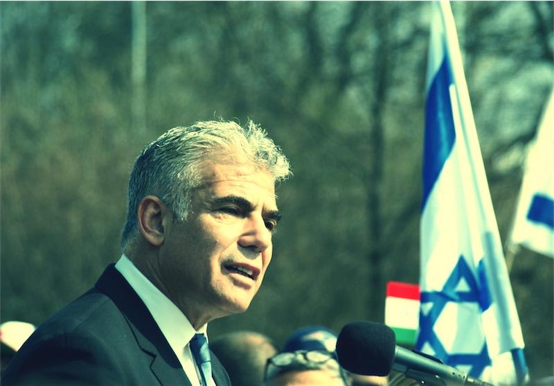 """Yair Lapid in Genf: """"Wir sind nicht länger gewillt, zu schweigen"""". Foto © GRA"""