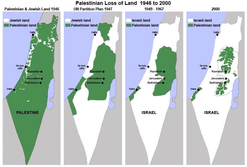Bildergebnis für Palästina auf die seit 1967 von Israel besetzten Gebiete