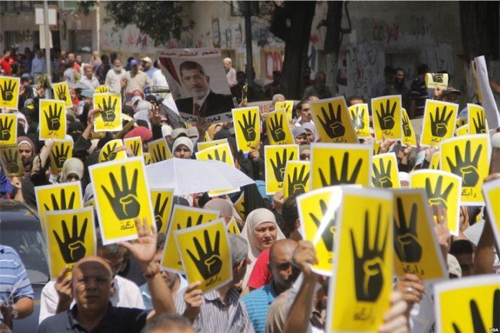 Demonstranten in Kairo am 23. August 2013. Foto PD