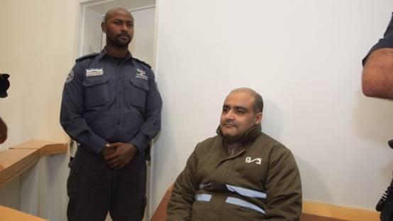 Mohammed El-Halabi bei seiner Verhaftung. Foto Israelische Sicherheitsbehörden