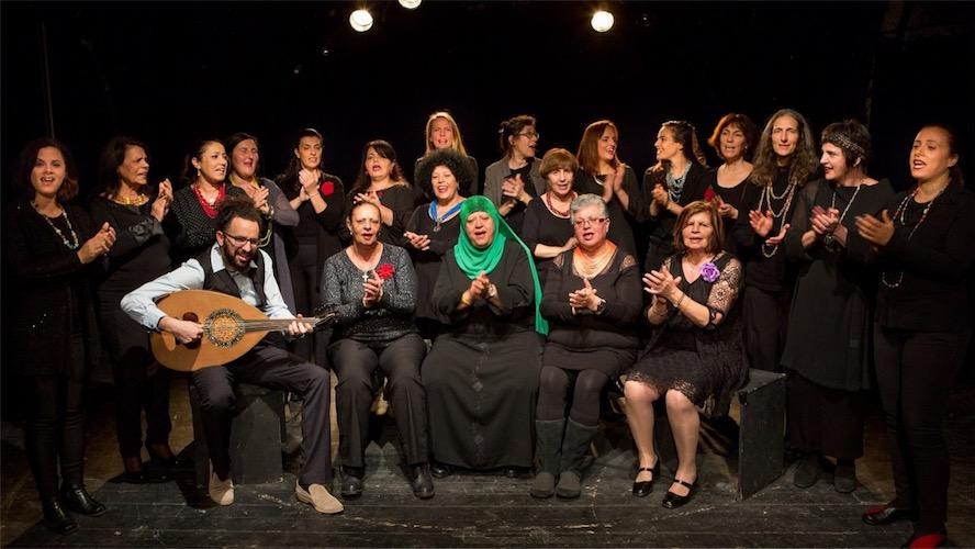 Der Rana Chor. Foto Noa Ben Shalom
