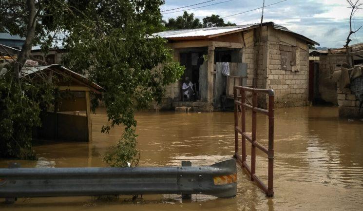 Verwüstung in Haiti nach Hurrikan Matthew, Oktober 2016. Foto IsraAID