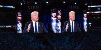 Trump spricht bei AIPAC. Foto Lorie Shaull / Flickr.com. (CC BY-SA 2.0)