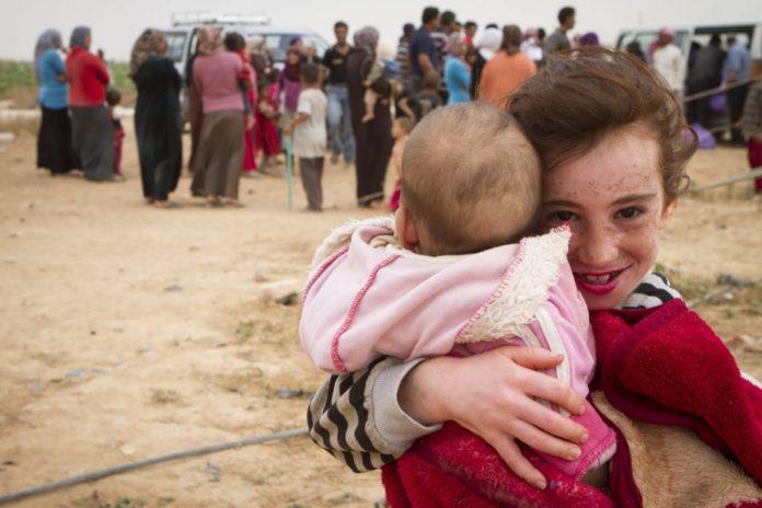 Syrische Flüchtlingskinder. Foto Mickey Alon / Times of Israel