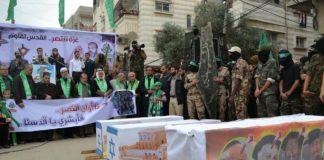 Hamas feiert den tödlichen Anschlag auf ein Synagoge in Jerusalem bei dem im November 2014, vier betende Juden ermordet wurden. Foto Facebook