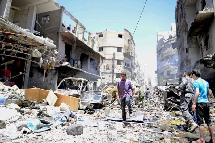Syrische Palästinenser. Foto UNRWA / Omar Sanadiki