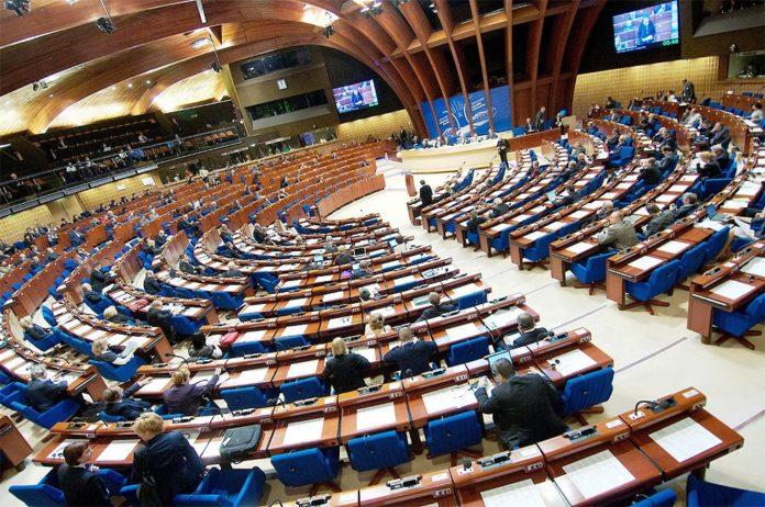 Europarates macht Israel für Gazas humanitäre Lage verantwortlich. Foto PACE_News / Twitter