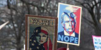Protest gegen Trump in Washington DC am 29. Januar 2017. Foto Tracy Lee / Flickr.com. (CC BY-NC-ND 2.0)