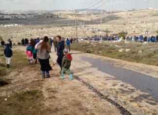 Amona wird geräumt. Foto Judah Ari Gross/Times of Israel