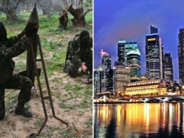 """Wo ist die Zukunft von Gaza: """"das Singapur des Nahen Ostens"""" oder mehr Terrorismus und Krieg? Foto Gatestone"""