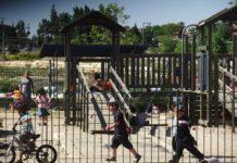 Spielplatz in der Siedlung Beit El Foto יעקב - CC BY-SA 3.0, Wikimedia Commons.