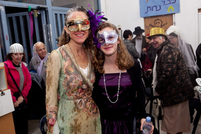 Purim 2015. Foto © Shlomo Taitz