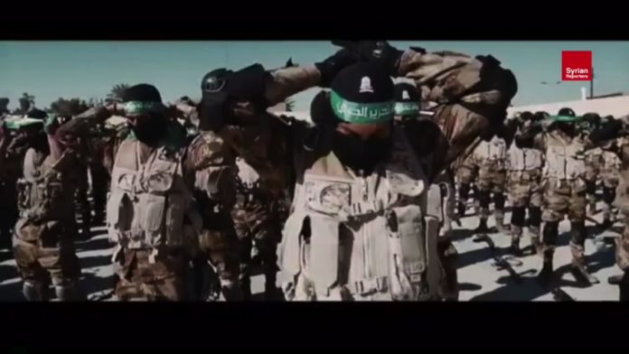 Harakat al-Nujaba. Foto Screenshot Youtube