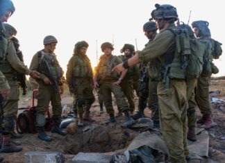 IDF Paratroopers in Gaza. Foto IDF / Flickr.com . (CC BY-SA 2.0)