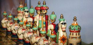 Iranisches Schachspiel. Foto CC0 Public Domain