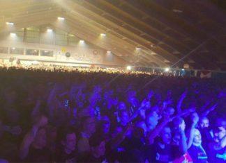 Rund 5000 Besucher bei Neonazi-Konzert im Unterwasser. Foto Twitter