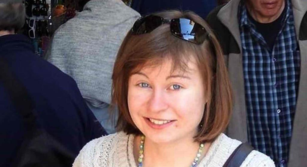 Hannah Bladon, eine englische Studentin, die am 14. April 2017 von einem palästinensischen Terroristen in Jerusalem mit einem Messer zu Tode gestochen wurde. Foto UK Foreign and Commonwealth Office.
