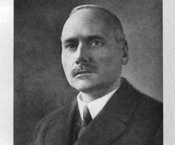 Notar E. J. M. de Kat im Jahr 1925. Foto zVg