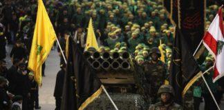 Militärparade von Hisbollah. Foto Twitter/Defapress