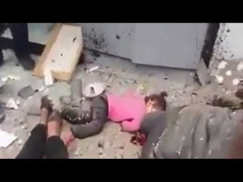 Bei islamistischen Anschlägen am Palmsonntag auf zwei koptische Kirchen in Ägypten wurden am 9. April 2017 mindestens 40 Menschen getötet und über 120 Personen verletzt. Unter den Opfern waren auch etliche Kinder. Foto Screenshot Youtube.