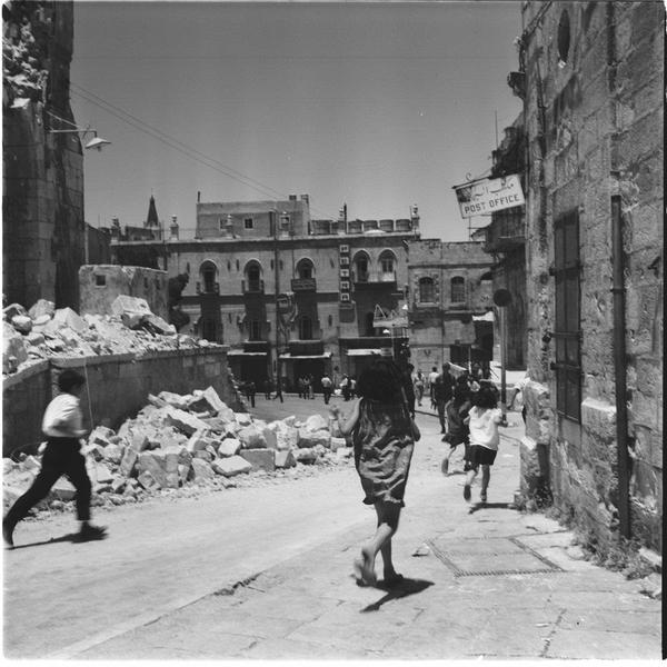 Altstadt von Jerusalem am 10. Juni 1967. Foto Staatsarchiv Israel.