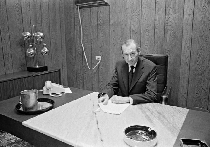 """Unter Generalsekretär Kurt Waldheim, einem früheren Nazi, verabschiedeten die Vereinten Nationen 1975 die berüchtigte Resolution 3379, """"Zionismus ist eine Form des Rassismus"""". Foto UN Photo/Yutaka Nagata. Flickr.com (CC BY-NC-ND 2.0)"""