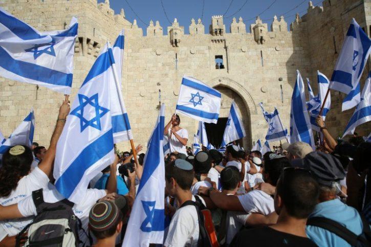 Jerusalem-Tag. Foto Hillel Maeir/TPS