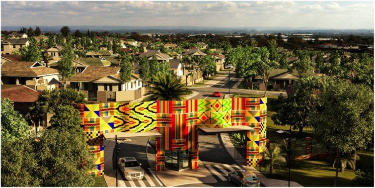 Ein AlefBet Projekt in Ghana. Foto Daphna Regev/AlefBet Planners