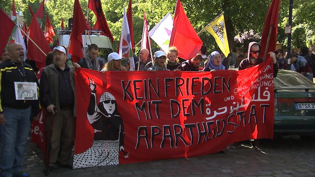 "Berlin, ""Nakba"" Demonstration. Foto Screenshot Berlin, ""Nakba"" Demonstration. Foto Screenshot Preview Production."