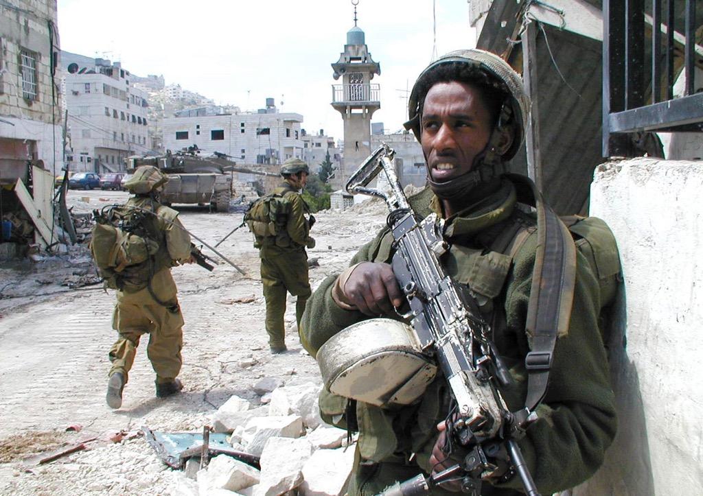 Soldaten bei der