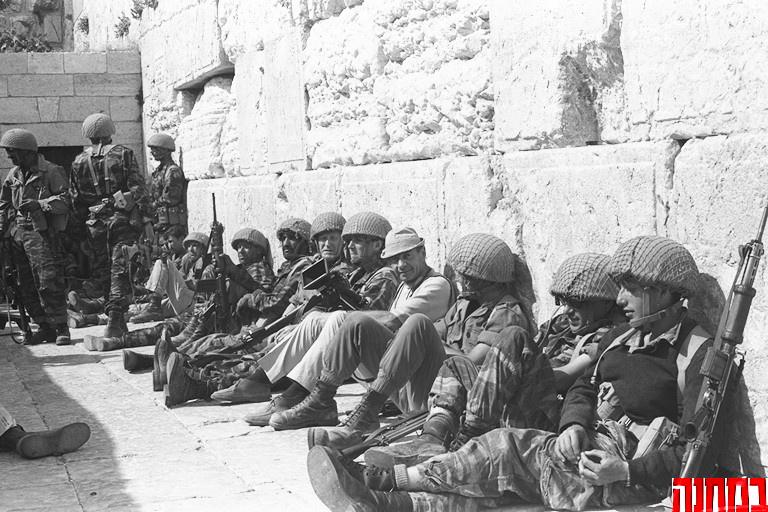 IDF Soldaten in Jerusalem. Foto BaMachaneh