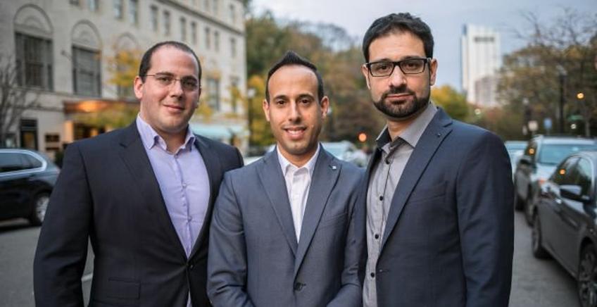 Gründer Team Lior Div, Yonatan Striem-Amit und Yossi Naar. Foto cybereason