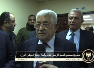 Mahmoud Abbas. Foto Screenshot Youtube