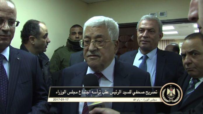Mahmoud Abbas. Foto Screenshot Youtube