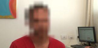 """Ein Breaking the Silence """"Zeuge"""" bei einer Aussage. Foto Screenshot Youtube / Breaking the Silence"""