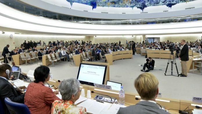 UNHRC in Genf. Foto UN/Jean-Marc Ferré