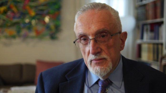 Dr. Manfred Gerstenfeld. Foto Screenshot Youtube