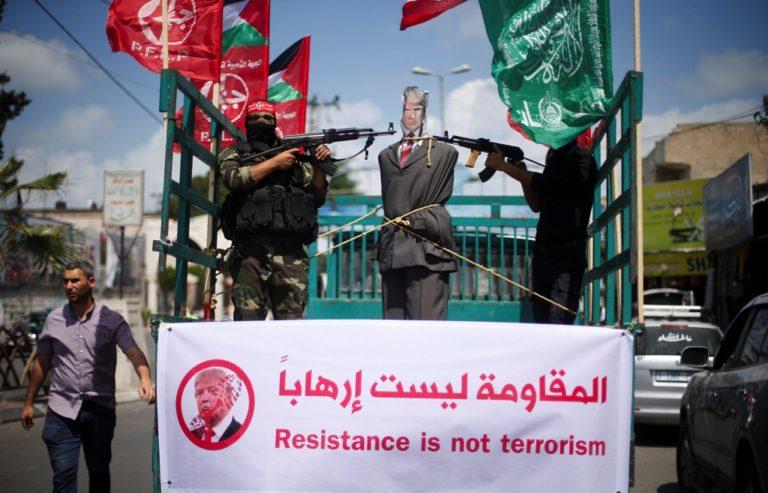 """Palästinenser kündigen """"Volksaufstand"""" gegen Trump's Friedensplan an"""