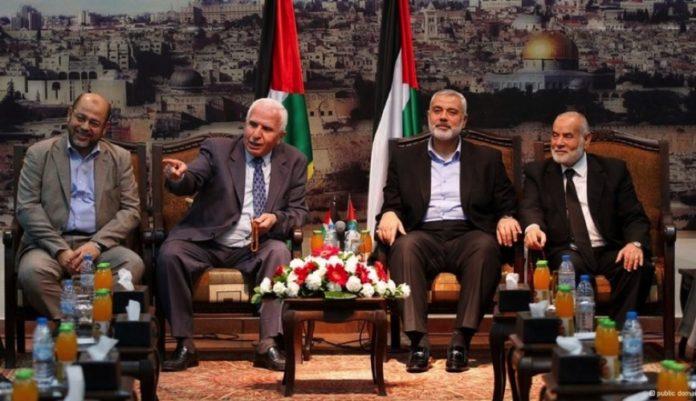 Treffen von Hamas und Fatah 2016 in Doha. Foto PD / Alresalah