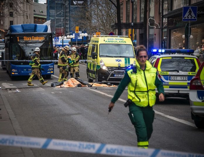 Islamistischer Terroranschlag in Stockholm am 7. April 2017. Foto Frankie Fouganthin, CC BY-SA 4.0, https://commons.wikimedia.org/w/index.php?curid=57798943