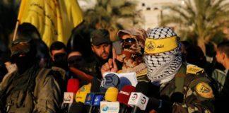 Die Al-Aqsa-Märtyrer-Brigaden, der sog. militärische Flügel der Fatah-Bewegung. Foto Screenshot Youtube / Khbrpress