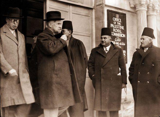 Lord Peel 1936. Foto PD