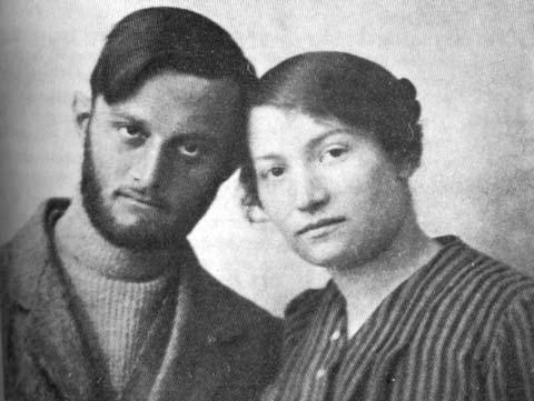 Avshalom Feinberg und Sarah Aaronsohn . Foto PD