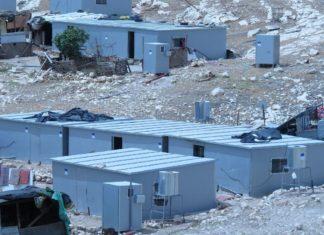 Illegal gebaute Objekte im Westjordanland. Foto Regavim