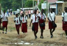 Sudanesische Schulkinder in Juba, Südsudan. Symbolbild. Foto Moshe Shai/Flash90