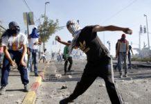 Intifada in Shuafat 2014. Foto Sliman Khader/Flash90
