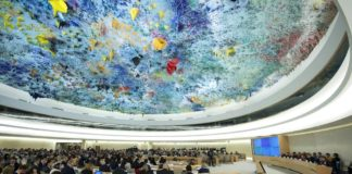 """""""Human Rights Council - Special Session o"""" (CC BY-NC-ND 2.0) by UN Geneva. https://www.flickr.com/photos/unisgeneva/30380871831"""